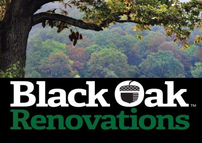 Black Oak Renovations Business Card