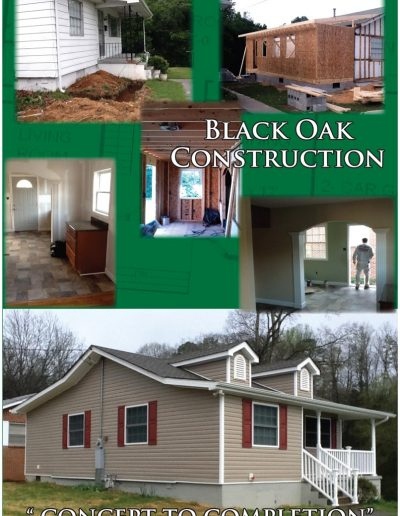Black Oak Renovations Oak Ridge House Flyer