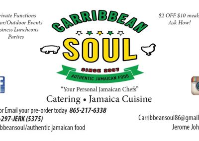 Carribbean Soul Business Card