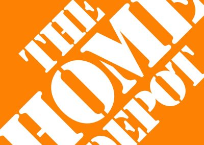 Home Depot Yard Sign