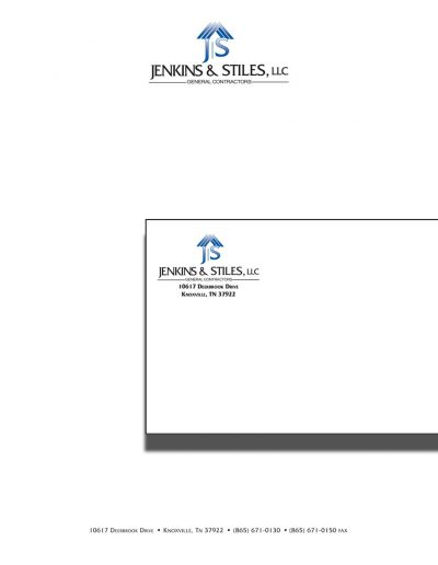 Jenkins Stiles Envelopes and Letterheads