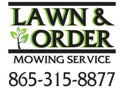 Lawn and Order Banner