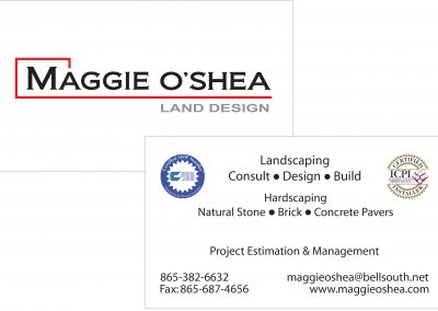 Maggie OShea Business Card