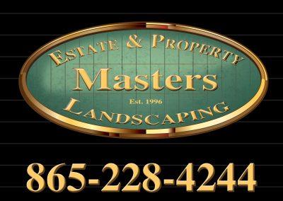 Masters Yard Sign