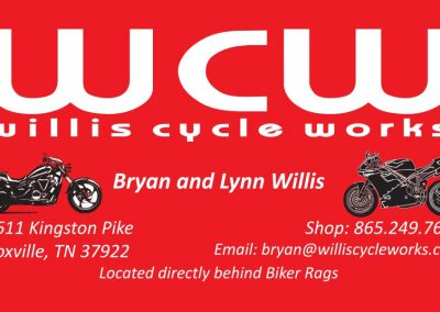 Willis Cycle Works Business Card